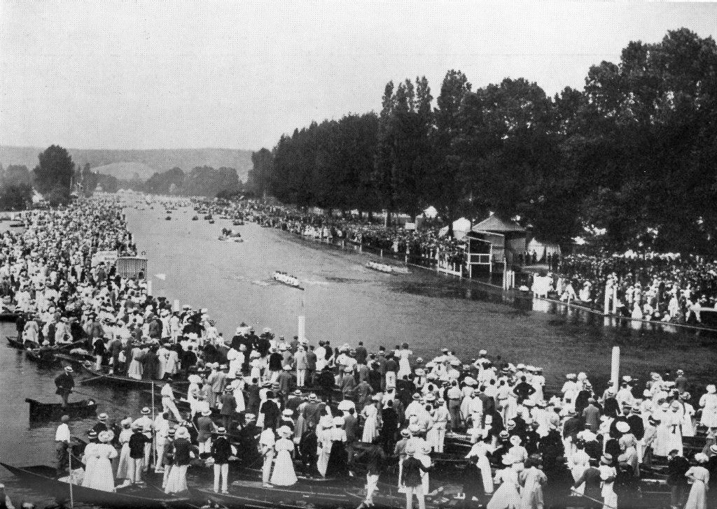 Sport Nautique de Gand winning the Grand Challenge Cup in 1907