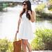 little white dress, espidrilles, leather tote.jpg
