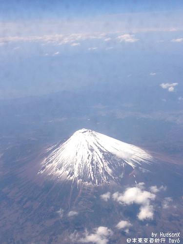 飛機上看見富士山(3)