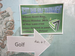 scott base golf tournament