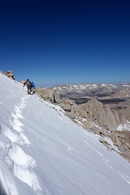 Traverse to the North Face of Mount Whitney