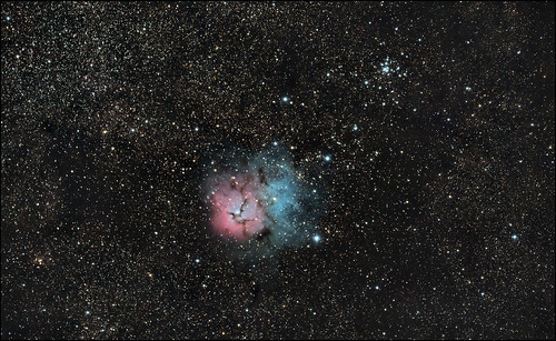 Trifid Nebula - M20 - bad color