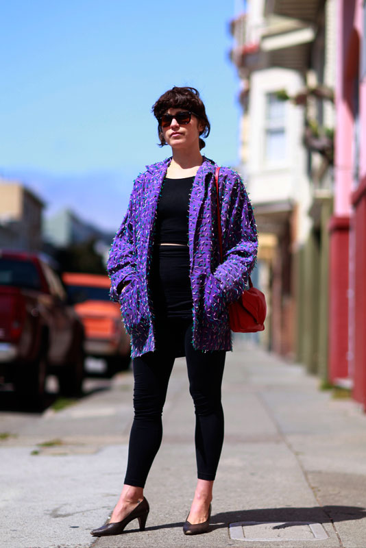 heidi_17th street style, street fashion, women, 17th Street, Quick Shots, San Francisco