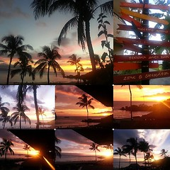 Another #maui #masterpiece. What a #life #coreymountphotography  #808allday #shoots #aloha #igers #instalike #nofilter #photooftheday #sunset #firesky #collage #lahaina #kaanapali miss my boo already @genaferl www.coreymount.com