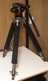 Gitzo G1340 with Manfrotto MVH502A