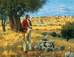 Apostle Orson Hyde Dedicates the Holy Land