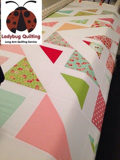 Turnovers quilt made from scrumptious