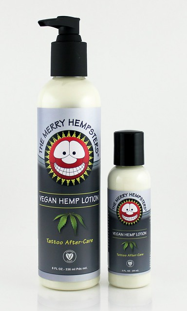 Vegan product review merry hempsters tattoo for After tattoo lotion