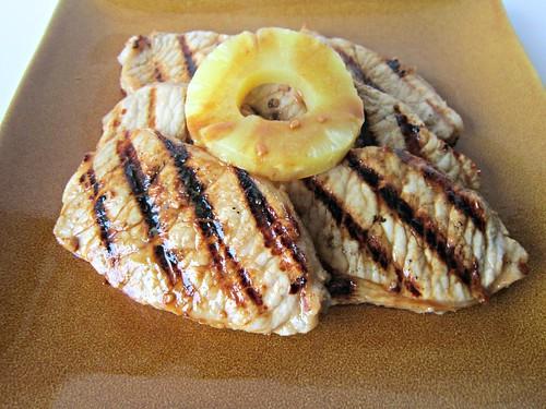 Pineapple-Rum Pork Chops
