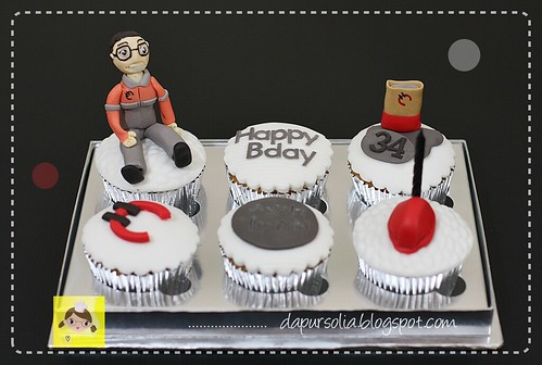 Cupcake Set for Ayah Iwan
