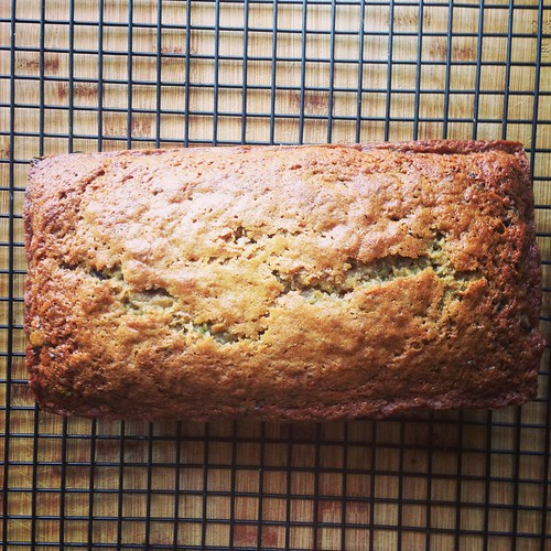 zucchini chocolate chip bread  playing house