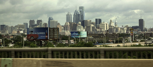 city urban usa philadelphia skyline america cityscape unitedstates pennsylvania billboard pa philly southphiladelphia southphilly i76 delawareavenue interstate76 waltwhitmanbridge cityofbrotherlylove shoretraffic