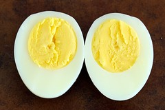 4-minute hard boiled egg