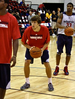 Jan Vesely free throw - NBA Summer League