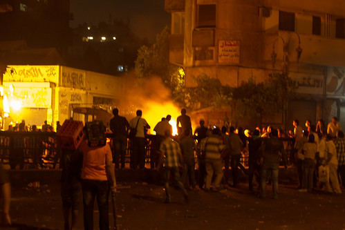 Clashes at Ramsis, July 16th 2013