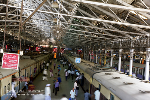 Local Trains in Chhatrapati Shivaji Terminus railway station