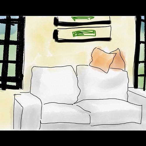 Usando o App Tayasui Sketches, para iPad @ianelli  deu a dica.  Barbara adorei e já saí desenhando. Obrigado! by Dalton de Luca