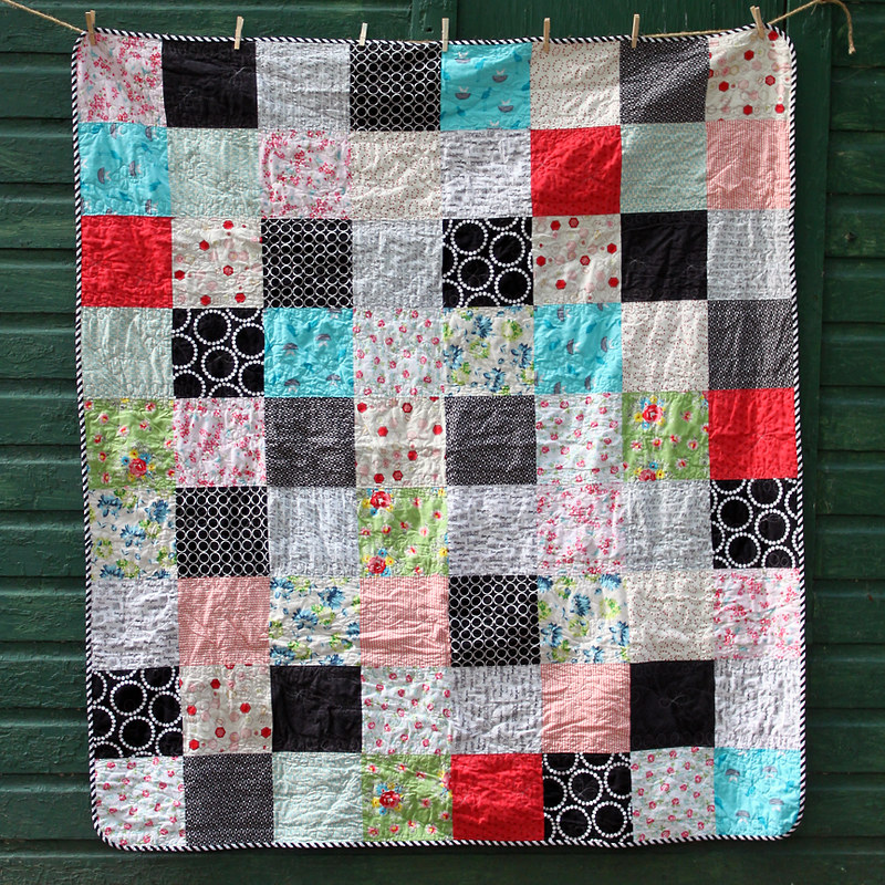 Sugar Rush Throw Quilt