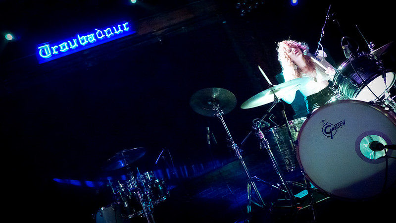 Deap Vally's Julie Edwards