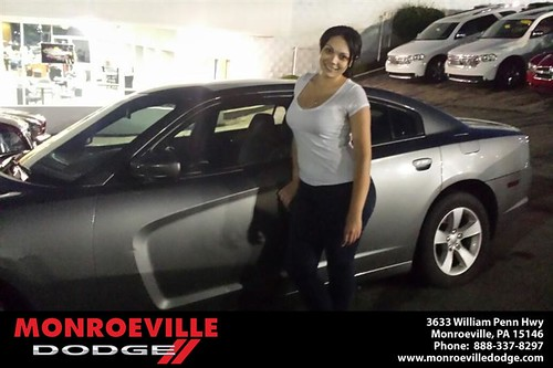 Thank you to Daniella Fetsko on the 2013 new car  from Chance Saeler and everyone at Monroeville Dodge! by Monroeville Dodge
