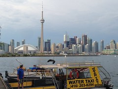 Got the water taxi back to the city