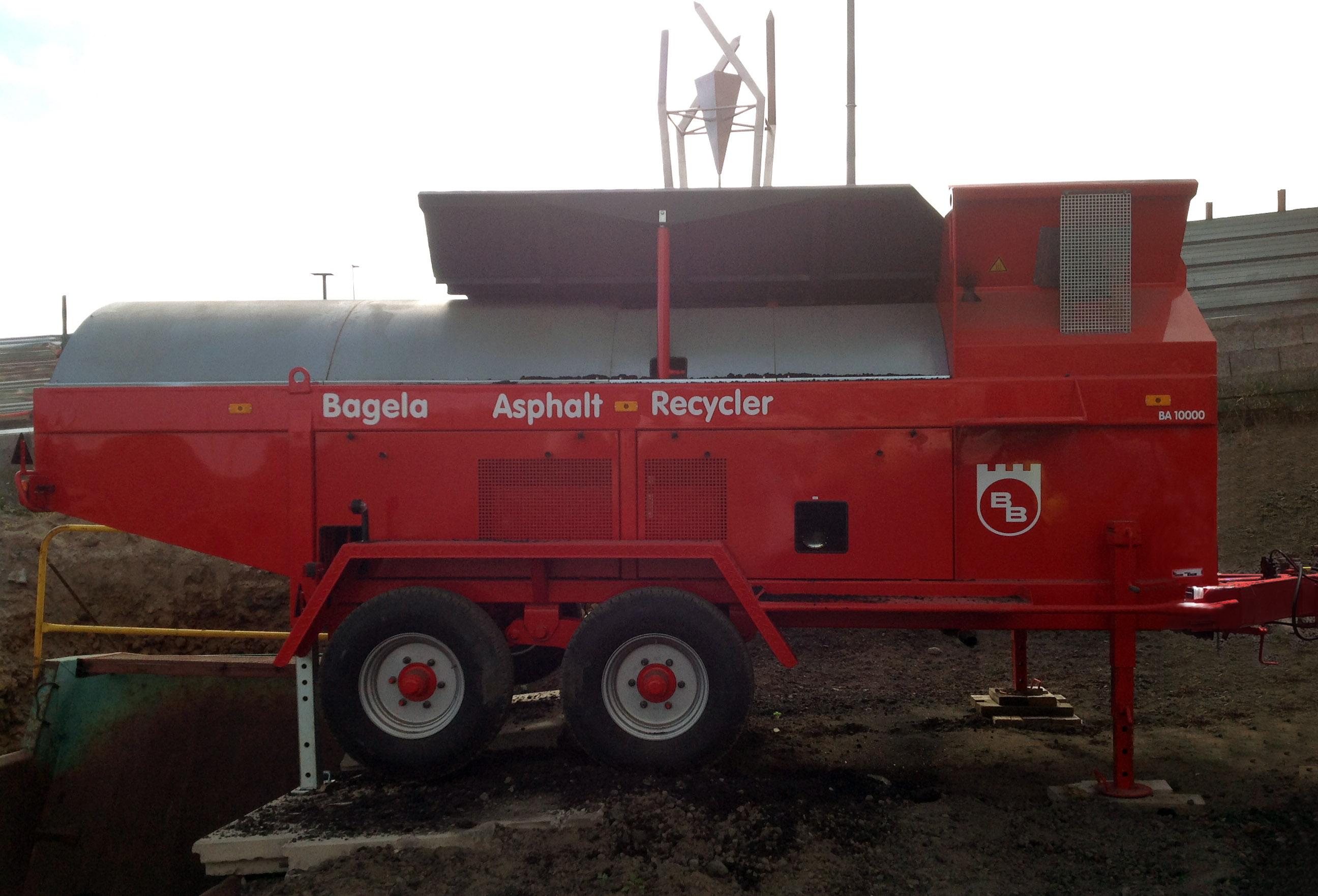 recicladora de asfalto bagela Modelo BA 10000