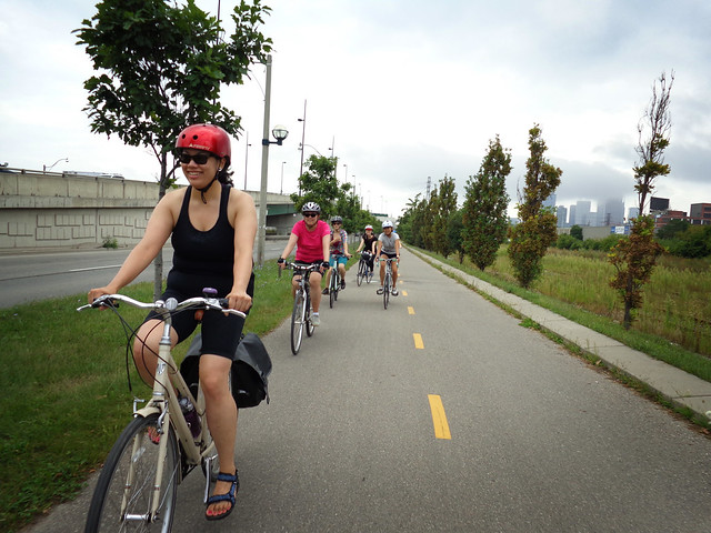 August Toronto Girls' Cupcake Ride