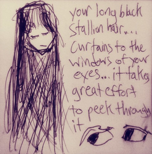 Black Curtain Hair (1)(August 9 2013)