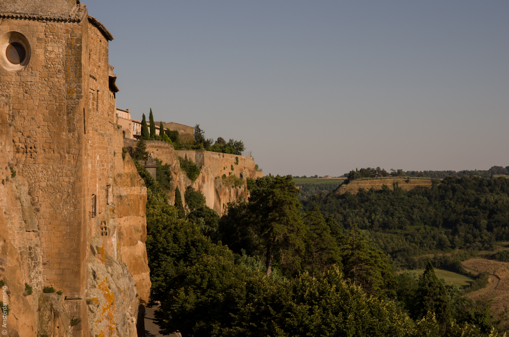 Italy, Walls of Orvieto