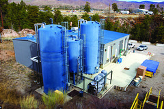 LANL's Sanitary Effluent Reclamation Facility, key to reducing the Lab's discharge of liquid.