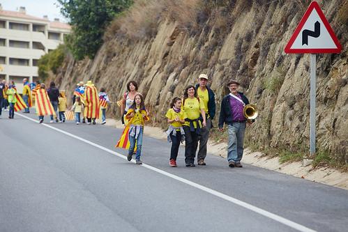 Via catalana a Sant Pol