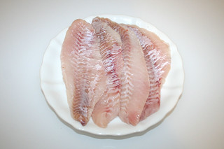 05 - Zutat Rotbarschfilet / Ingredient redfish filet