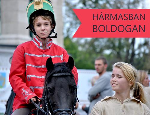 Kishuszár Vágta - 2013 harmasban-boldogan