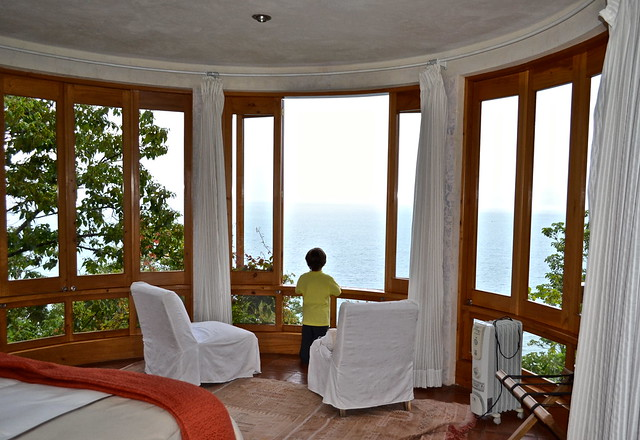 Master Bedroom View, Balam Ya, Luxury Villas, Lake Atitlan, Guatemala
