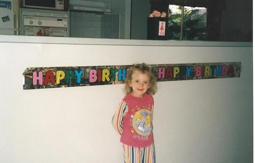 Happy Birthday Miss 4