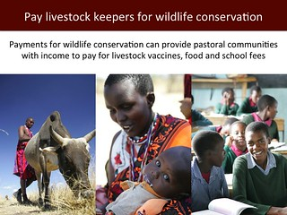 Pay livestock keepers for wildlife conservation