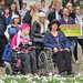 Disabled campaigners at the 10,000 Cuts and Counting protest