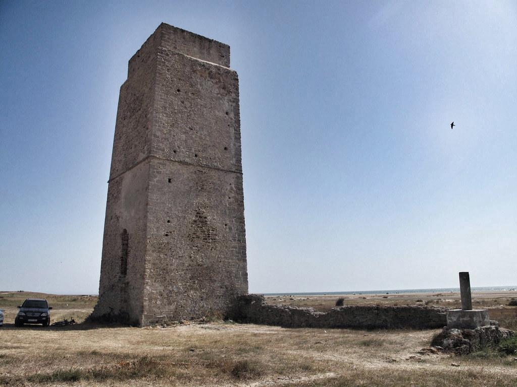 torre castilnovo_conil_ruina