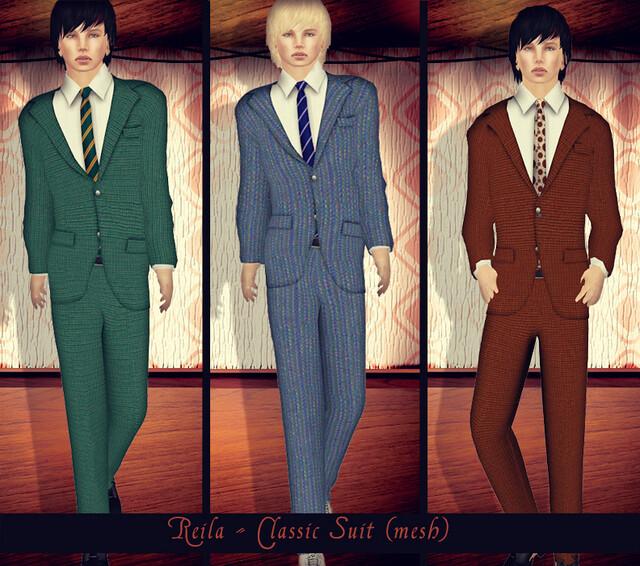 Reila - Mens Classic  Suit AD