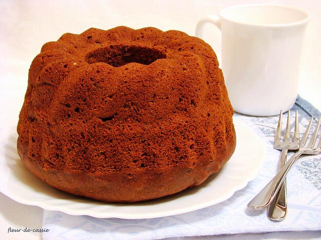 тыквенно-шоколадный кекс 2