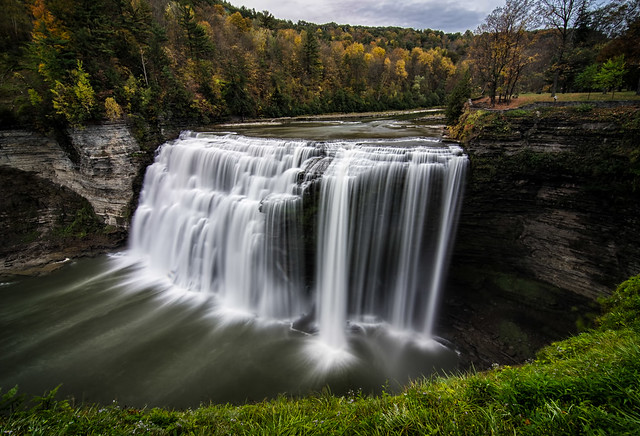 Over the Wall @ Middle Falls, Letchworth State Park NY  (Explore #20 - Oct 20, 2013)