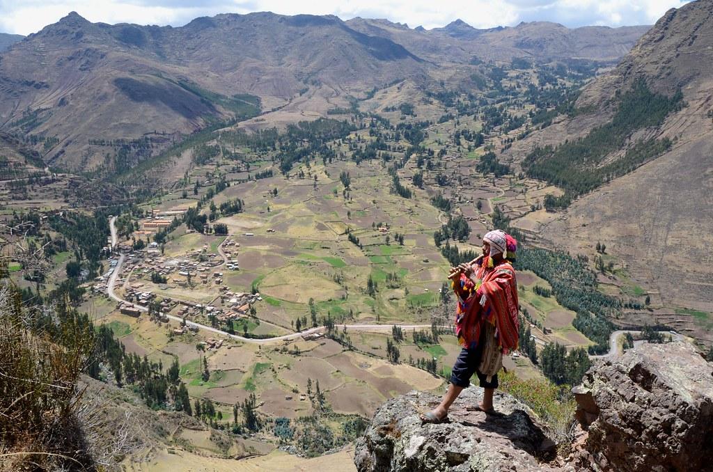 Inca Flautist, Sacred Valley, Peru