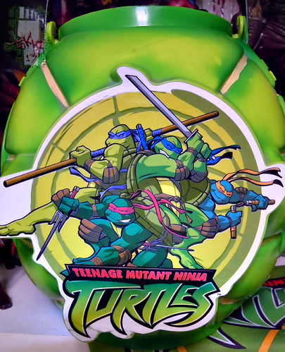 DISGUISE :: TMNT Folding Pumpkin Pail ii (( 2004 ))