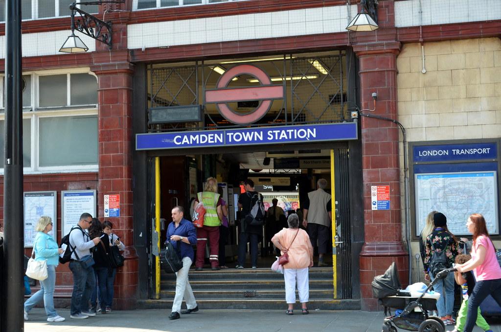 Camden Underground Station Londres