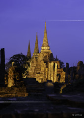 Wat Phra Si Sanphet.