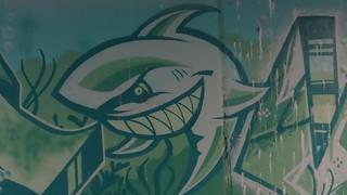 Graffiti wie wie Grausen und Brand im Haus verleben sie des gleichen Lebens Tag dann trennten sich die himmlischen Gewalten 0159