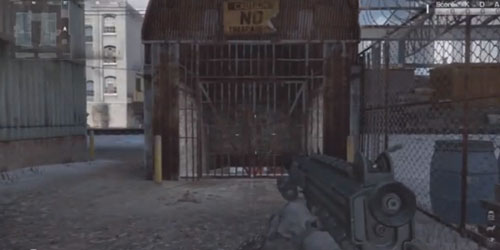 CoD Ghosts: Multiplayer-How to open Secret Door on Freight Map