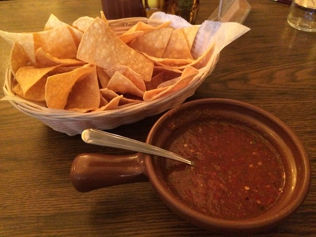 Chips and salsa - Casa Azteca