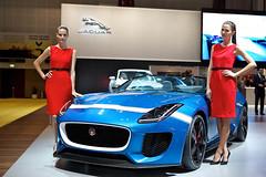 Jaguar at the 2013 Dubai Motor Show