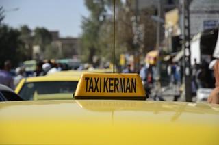 Taxi en Kerman